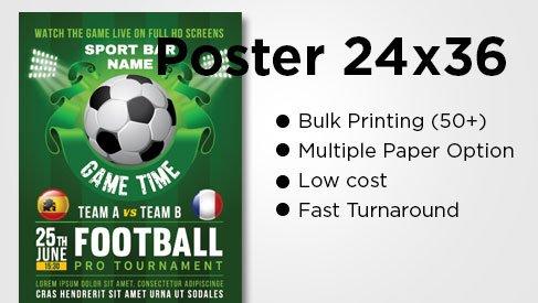 Poster 24x36 - Bulk Posters (50+ prints) - PrintPapa