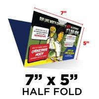 folded mailer 7x10 half folded to 7x5 printpapa. Black Bedroom Furniture Sets. Home Design Ideas