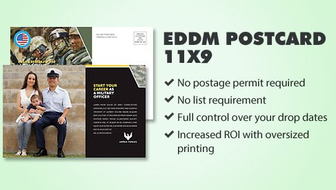 every door direct mail postcard 11x9 printpapa. Black Bedroom Furniture Sets. Home Design Ideas