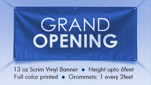 Vinyl Banner Printing Bay Area San Jose PrintPapa - Custom vinyl stickers san jose