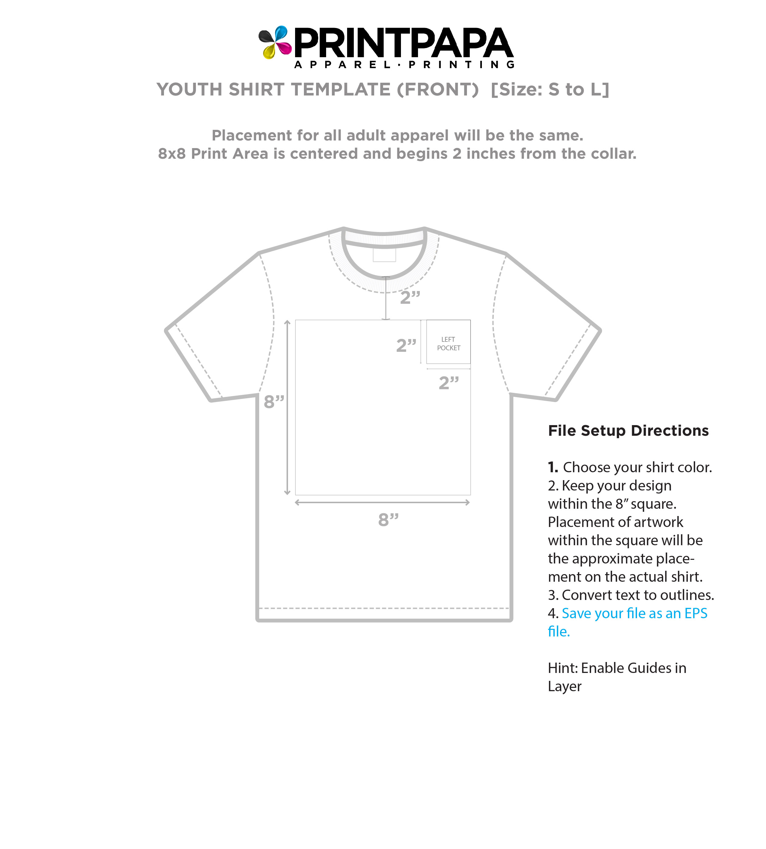 Find A Printing Template Printpapacom - T shirt print out template