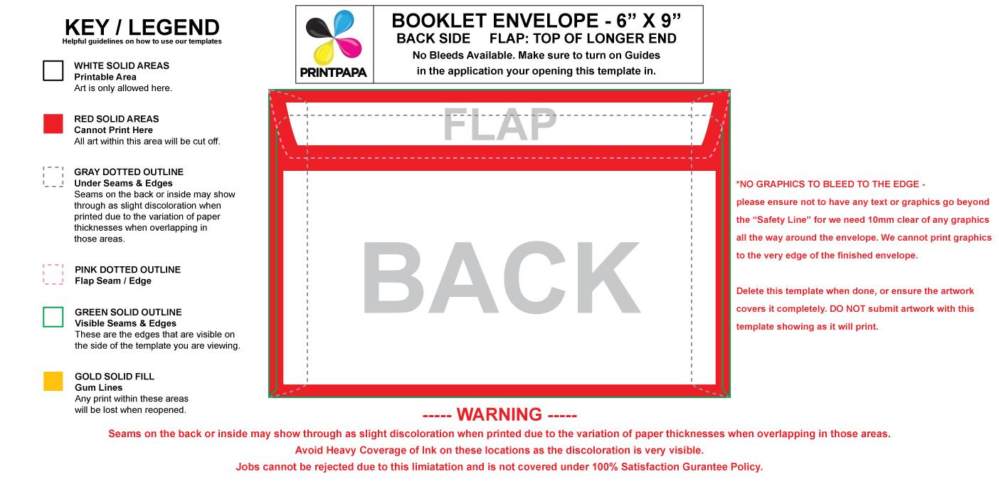 383 booklet envelope
