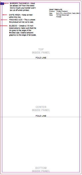 find a printing template printpapa com