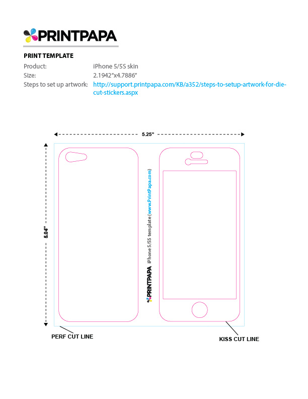 iphone 5 sticker template find a printing template