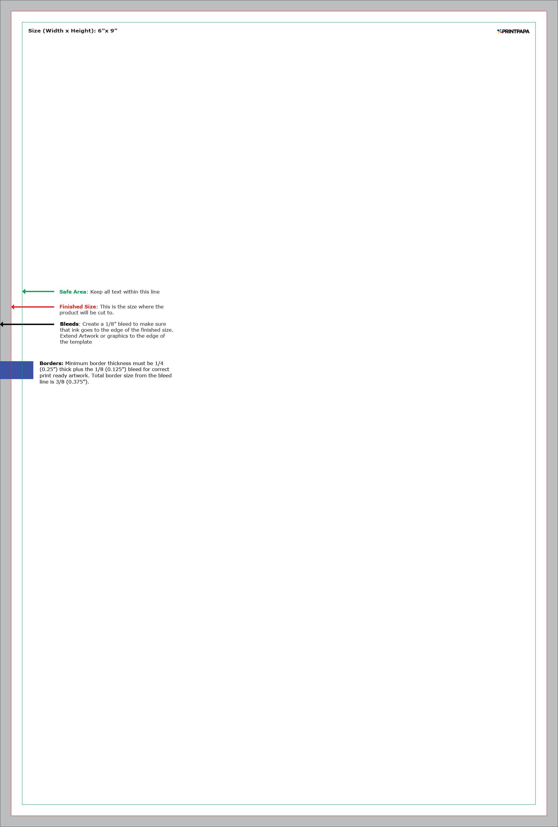Find A Printing Template Printpapacom - 6x9 postcard template
