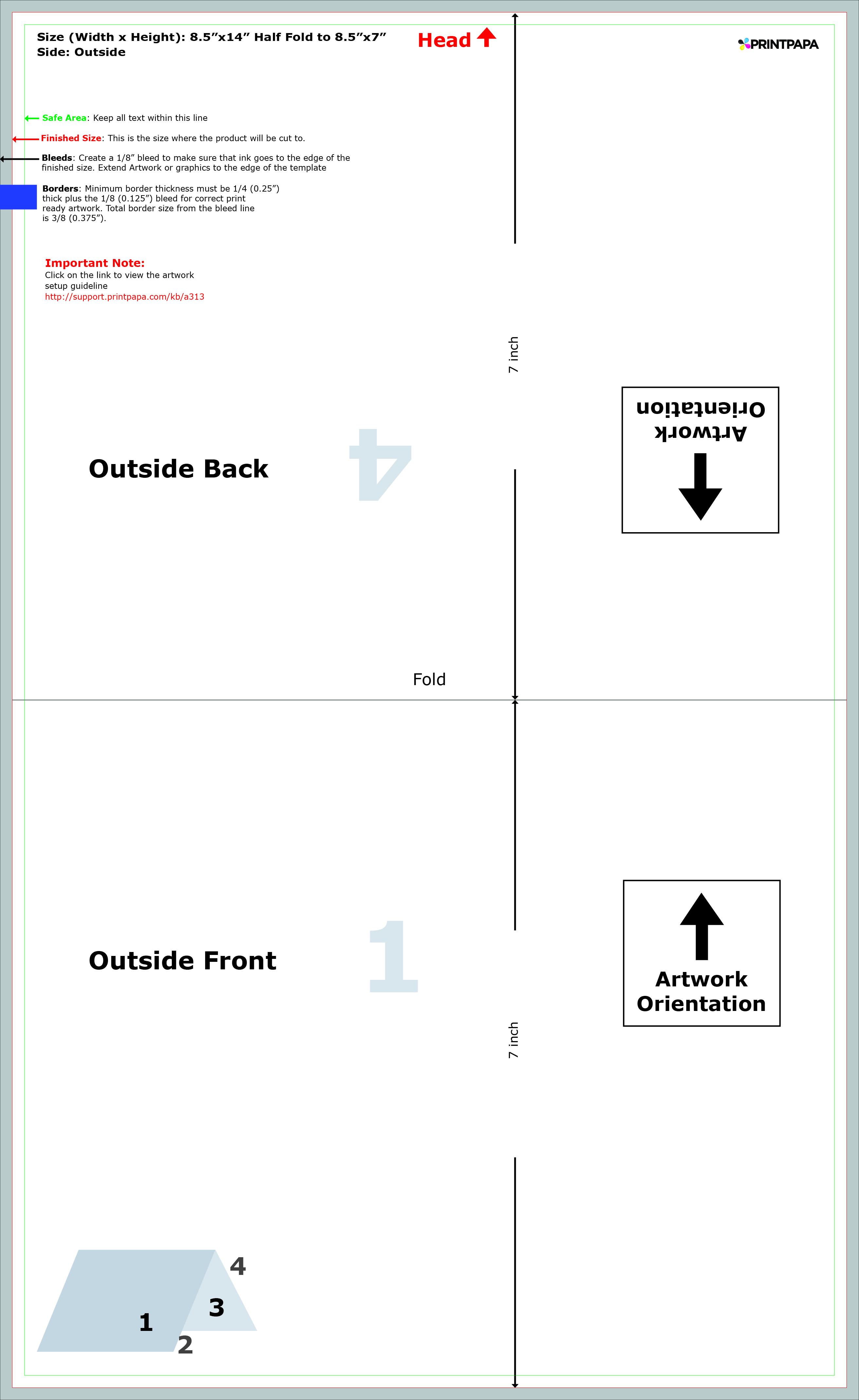 Find a printing template printpapa 842 maxwellsz