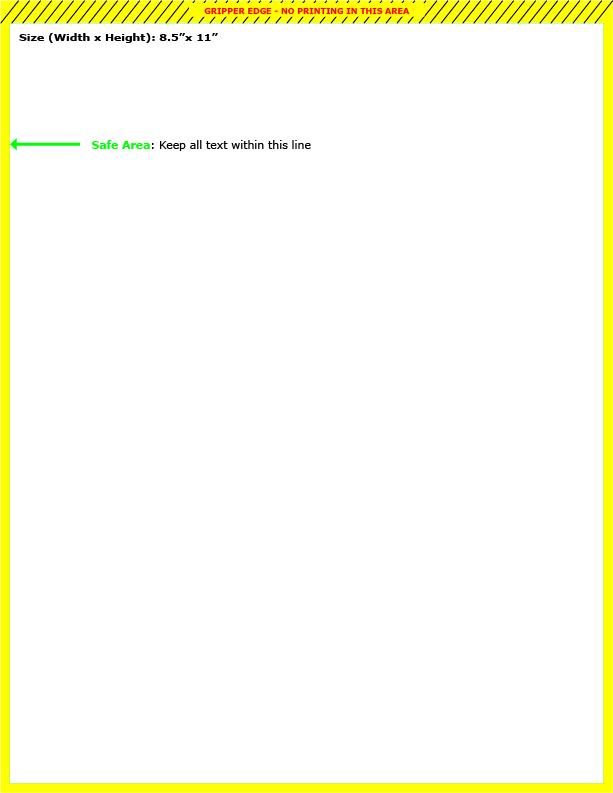 Find A Printing Template Printpapacom - 85 x 11 brochure template