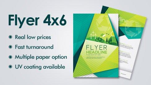 4x6 flyer printing services bay area san jose printpapa printpapa