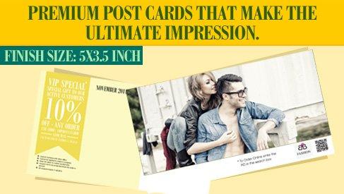 direct mail postcard 5x3 5 direct mail postcards printpapa. Black Bedroom Furniture Sets. Home Design Ideas