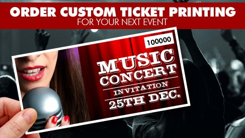 event ticket printing custom ticket printing printpapa