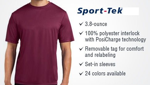 Sport Tek Posicharge Competitor Tee St350 Premium T Shirts These tees are perfect for everyday casual wear, outdoor adventures. printpapa
