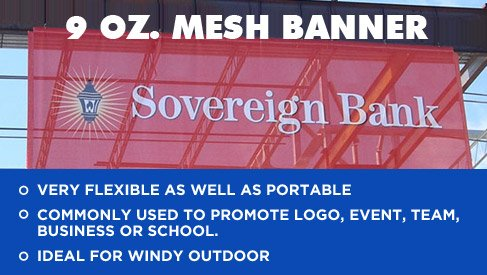 High Quality Mesh Banners At A Low Price