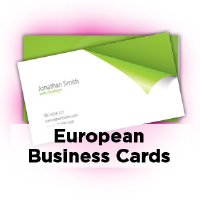 Standard business cards printpapa european business cards 335x217 colourmoves