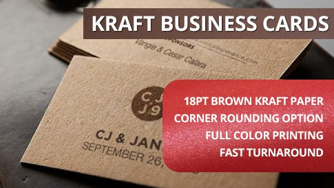 printpapa - Kraft Business Cards