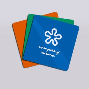 Opaque plastic business cards printpapa plastic square business card 2x2 inch colourmoves