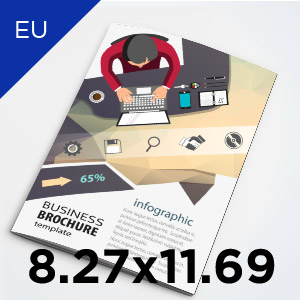 8.27x11.69 European A4 Size Booklets