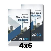 rectangle flyers printpapa
