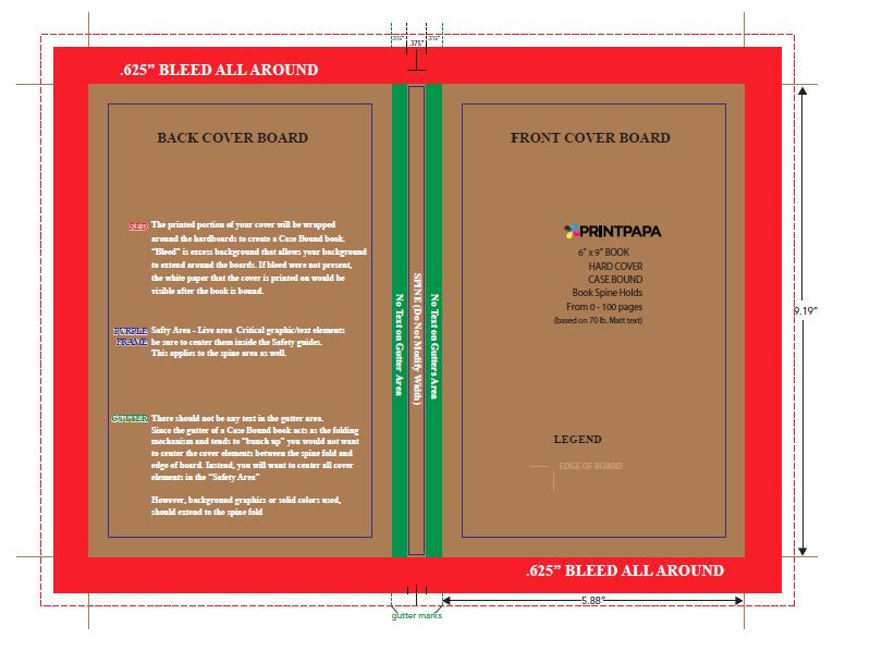 Microsoft Publisher Book Cover Template from www.printpapa.com